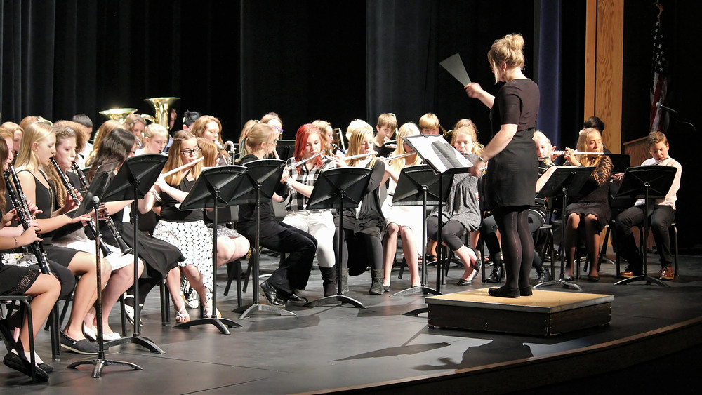 Band and Choir Concerts at the new PAC