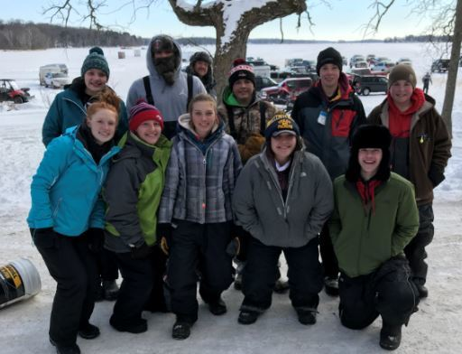 Congratulations HS Ice Fishing Team