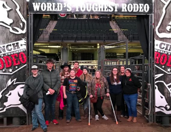 FFA Members attended World's Toughest Rodeo