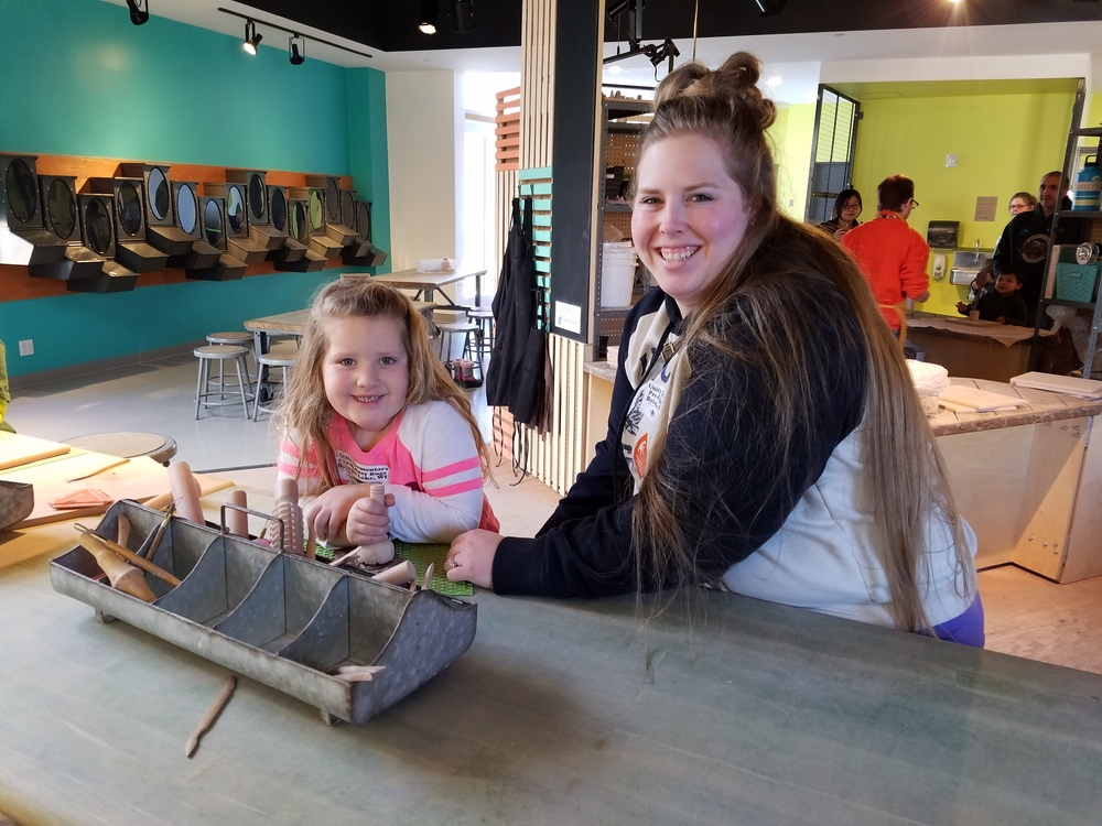 PreK field trip to the Children's Museum
