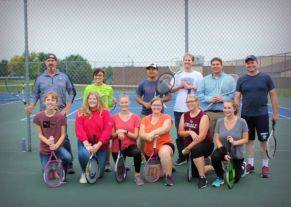 Annual Staff/student tennis tournament
