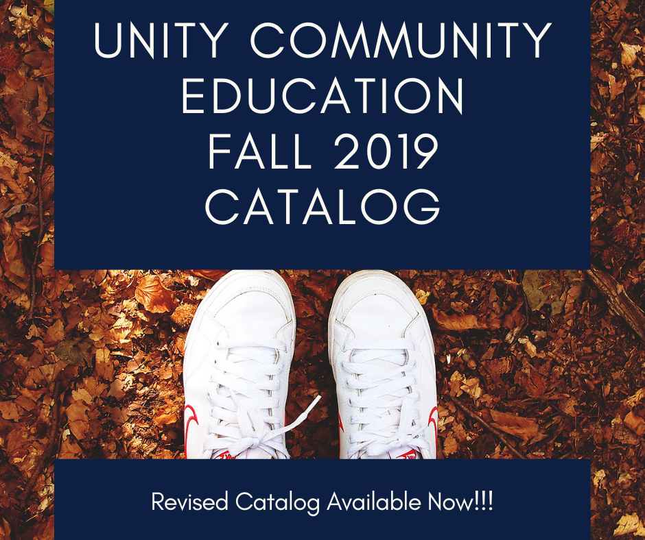 Revised Community Ed. Catalog Available!