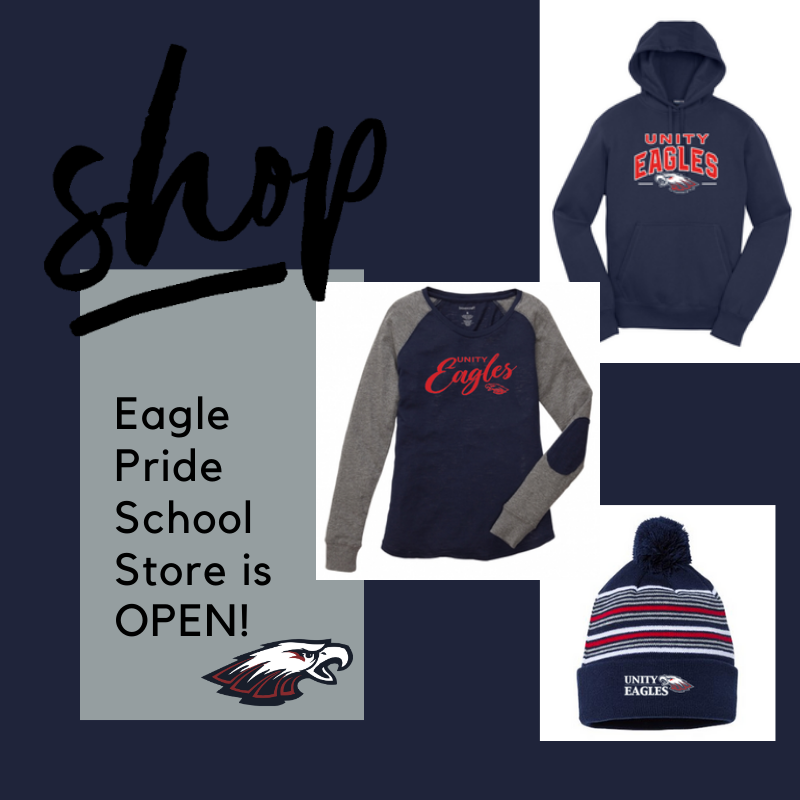 Eagle Pride OnLine Store is OPEN!