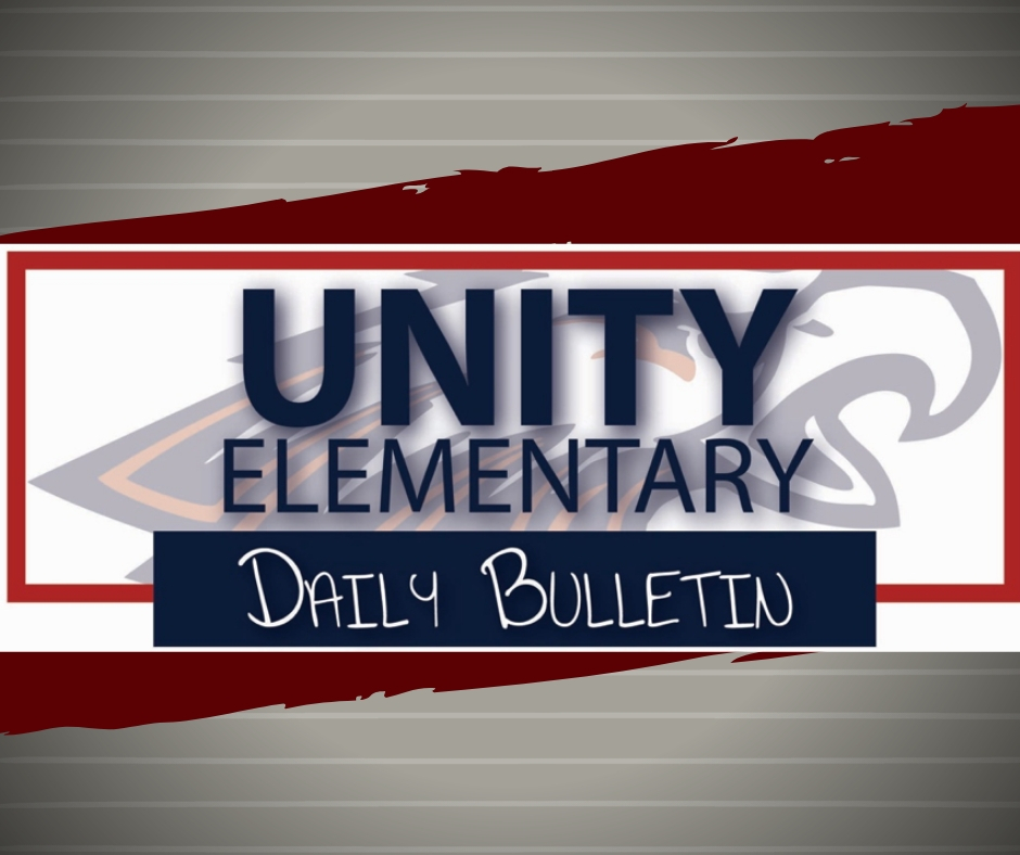 Elementary Announcements 4.8.2019