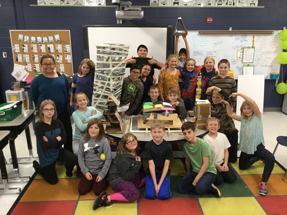 Fourth grade engineering projects